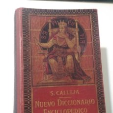Diccionarios antiguos: DICCIONARIO ENCICLOPÉDICO DE LA LENGUA ESPAÑOLA 1914 DE CALLEJA. Lote 175562499