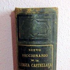 Diccionarios antiguos: NUEVO DICCIONARIO DE LA LENGUA CASTELLANA 1884 EDICION CH.BOURFT CON 135 AÑOS. Lote 175668167