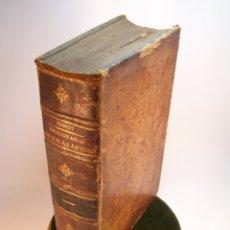 Diccionarios antiguos: DICCIONARIO DE IDEAS AFINES Y ELEMENTOS DE TECNOLOGÍA. SOCIEDAD DE LITERATOS. D. EDUARDO BENOT. 1900. Lote 175722788