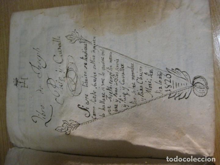Diccionarios antiguos: thesaurus hispano latinus utriusque linguae . typografia sierra año 1817 v. requejo - Foto 5 - 176576102