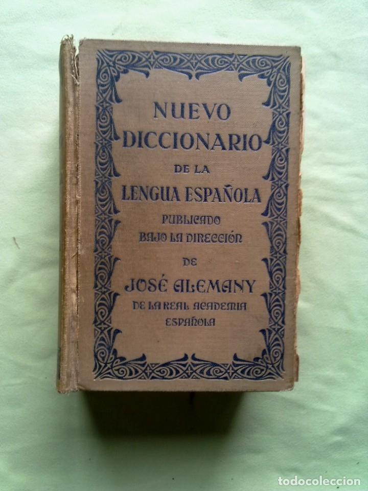 ANTIGUO DICCIONARIO. (Libros Antiguos, Raros y Curiosos - Diccionarios)