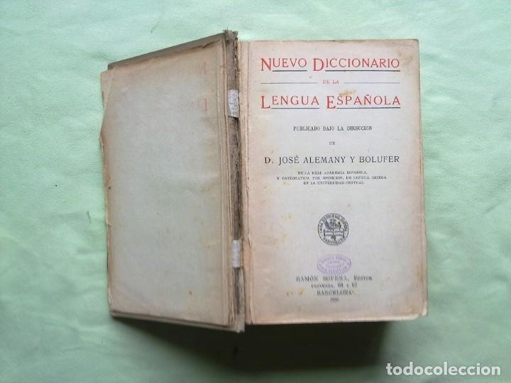Diccionarios antiguos: ANTIGUO DICCIONARIO. - Foto 2 - 177320377