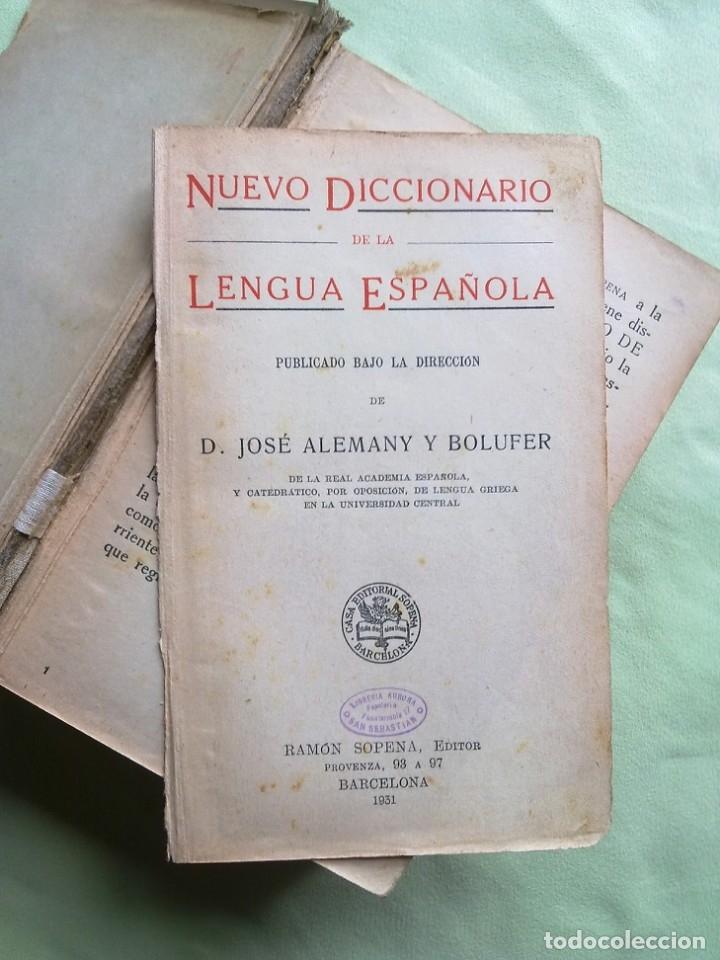 Diccionarios antiguos: ANTIGUO DICCIONARIO. - Foto 6 - 177320377