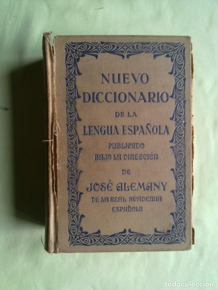 Diccionarios antiguos: ANTIGUO DICCIONARIO. - Foto 9 - 177320377