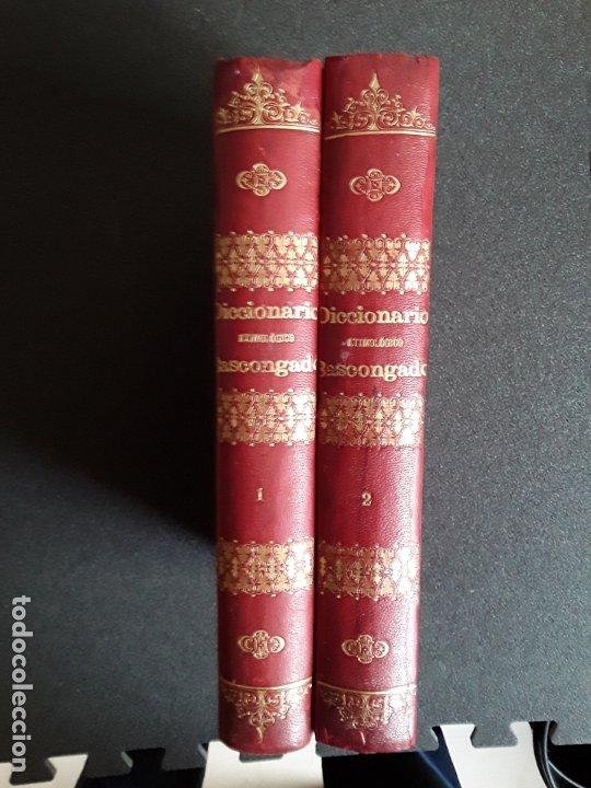 Diccionarios antiguos: Diccionario Etimológico del Idioma Vascongado. Euskera. Lengua Vasca. - Foto 2 - 177693782