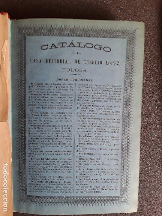 Diccionarios antiguos: Diccionario Etimológico del Idioma Vascongado. Euskera. Lengua Vasca. - Foto 5 - 177693782