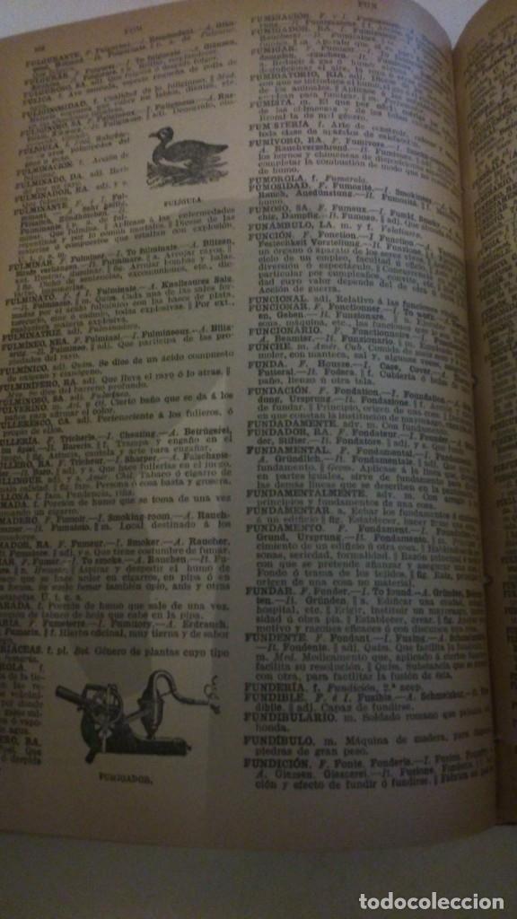 Diccionarios antiguos: DICCIONARIO PAL-LAS EN 5 IDIOMAS. 1922. HORTA. VER TODAS LAS FOTOS. - Foto 3 - 177832433
