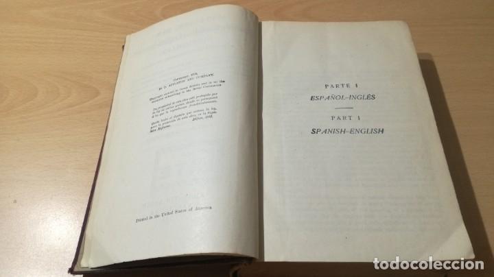 Diccionarios antiguos: DICCIONARIO ESPAÑOL INGLES - ARTURO CUYAS - AGUSTIN BOSCH 1918 - Foto 6 - 177841848