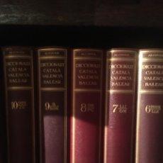 Diccionarios antiguos: ANTONI M ALCOVER - DICCIONARI CATALA - VALENCIA - BALEAR ( COMPLET 1930 - 1962 ). Lote 178187287