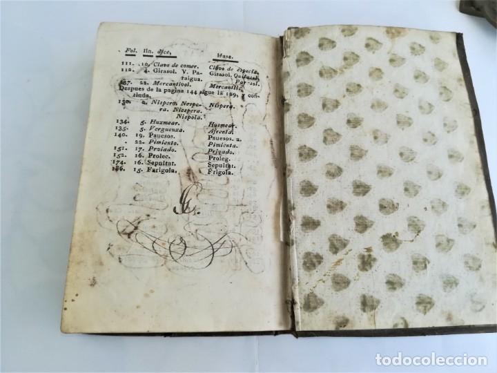 Diccionarios antiguos: ANTIGUO DICCIONARIO CATALAN-CASTELLANO,SIGLO XIX, AÑO 1806,EPOCA NAPOLEON BONAPARTE,BARCELONA - Foto 9 - 178595565