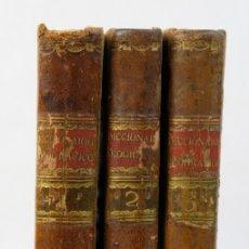 Diccionarios antiguos: DICCIONARIO GEOGRÁFICO UNIVERSAL-OFICINA DE LA VIUDA E HIJO DE D.PEDRO MARIN, 1793-3 TOMOS. Lote 178811657