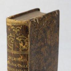 Diccionarios antiguos: DICCIONARIO PORTÁTIL ESPAÑOL-INGLÉS-NEUMAN Y BARETTI, CASA DE HECTOR BOSSANGE, 1742. Lote 178813007