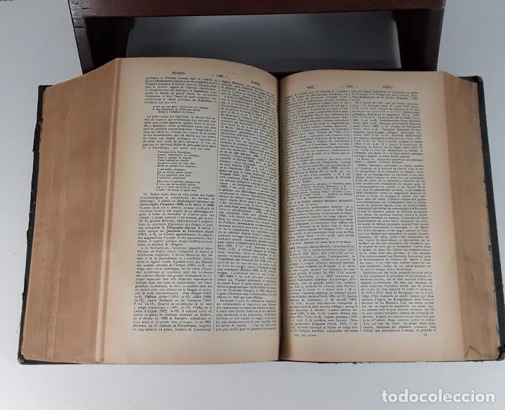 Diccionarios antiguos: DICTIONNAIRE UNIVERSEL DES LITTÉRATURES. G. VAPEREAU. LIBR. HACHETTE ET CIE. PARÍS. 1884. - Foto 6 - 179308711