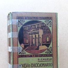 Diccionarios antiguos: NUEVO DICCIONARIO ENCICLOPEDICO HISPANO-AMERICANO ILUSTRADO,S.CALLEJA. Lote 180203025