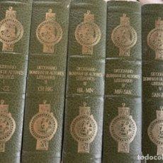 Diccionarios antiguos: DICCIONARIO BOMPIANI DE AUTORES LITERARIOS . Lote 180236316