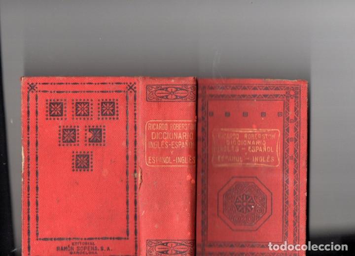 DICCIONARIO ROBERTSON INGLÉS-ESPAÑOL, ESPAÑOL-INGLÉS 1935 (Libros Antiguos, Raros y Curiosos - Diccionarios)