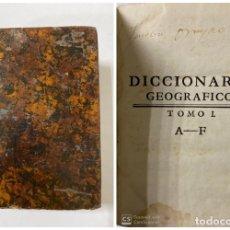 Diccionarios antiguos: DICCIONARIO GEOGRAFICO. COMPLETO.2ª EDICION. 3 TOMOS EN UNO. POR JOACHIN IBARRA. MADRID, 1763. LEER. Lote 180919826