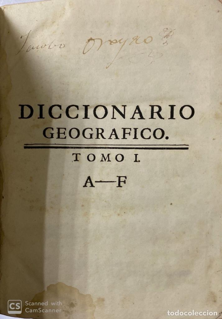 Diccionarios antiguos: DICCIONARIO GEOGRAFICO. COMPLETO.2ª EDICION. 3 TOMOS EN UNO. POR JOACHIN IBARRA. MADRID, 1763. LEER - Foto 4 - 180919826