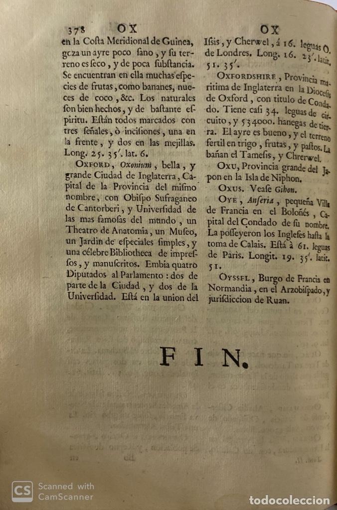 Diccionarios antiguos: DICCIONARIO GEOGRAFICO. COMPLETO.2ª EDICION. 3 TOMOS EN UNO. POR JOACHIN IBARRA. MADRID, 1763. LEER - Foto 14 - 180919826