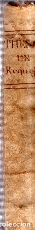 Diccionarios antiguos: THESAURUS HISPANO- LATINUS. VERBIS ET PHRAIBUS. P. BARTHOLOMEO BRAVO. P. PETRO DE SALAS. 1795. - Foto 3 - 180925612