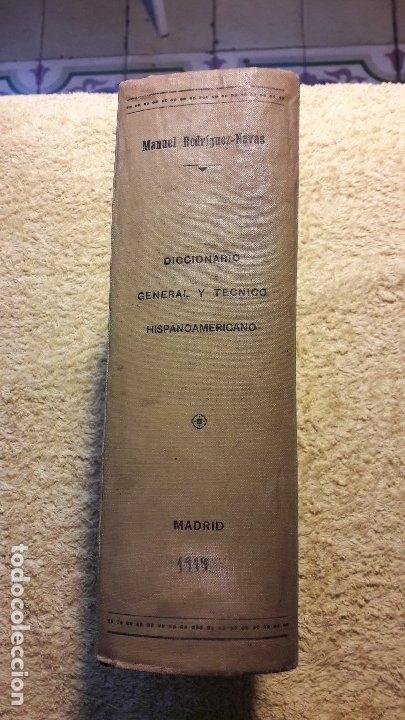 Diccionarios antiguos: Diccionario etimológico general y técnico hispanoamericano - Foto 3 - 180955577