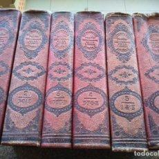 Diccionarios antiguos: DICCIONARIO POPULAR UNIVERSAL DE LA LENGUA ESPAÑOLA -- 6 TOMOS -- 1885 -- LUIS P. DE RAMON. Lote 181343515