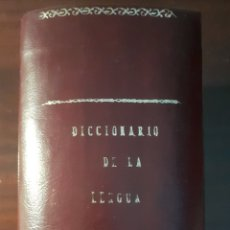 Diccionarios antiguos: DICCIONARIO DE LA LENGUA - DON JOSE ALEMANY Y BOLUFER - 1931.. Lote 183250381