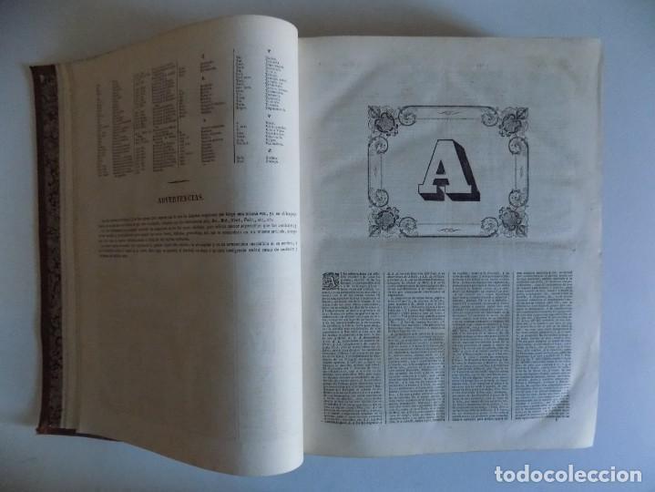 Diccionarios antiguos: LIBRERIA GHOTICA. EDICIÓN ISABELINA EN GRAN FOLIO DEL DICCIONARIO DE LA LENGUA CASTELLANA. 1858. - Foto 5 - 183547566