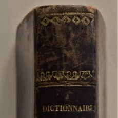 Diccionarios antiguos: DICCIONARIO ESPAÑOL-FRANCÉS Y FRANCÉS ESPAÑOL - D.G. TRAPANI - EDICIÓN DIAMANTE - PARÍS 1843. Lote 183561696
