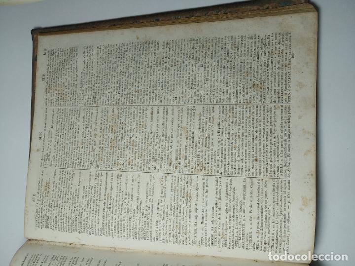 Diccionarios antiguos: Diccionario de la academia española. Dirección José René Masson. París. Casa de Massón e hijo. 1826. - Foto 9 - 184630485