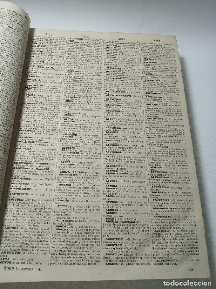 Diccionarios antiguos: Diccionario enciclopédico de la lengua española. 2 tomos. Sociedad de personas especial. Madrid.1875 - Foto 5 - 184631277