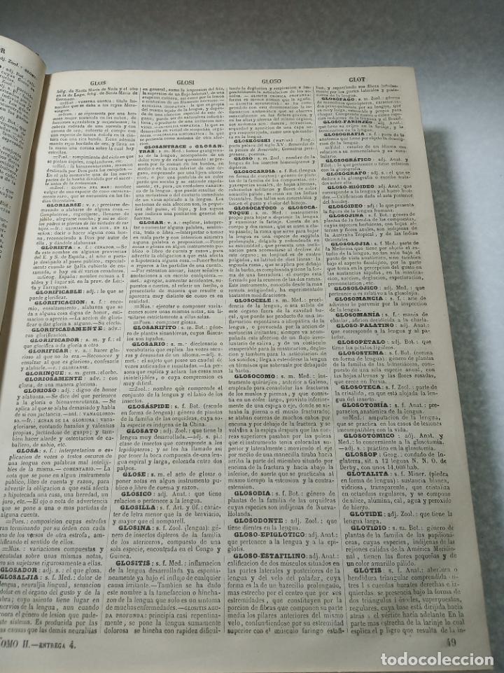 Diccionarios antiguos: Diccionario enciclopédico de la lengua española. 2 tomos. Sociedad de personas especial. Madrid.1875 - Foto 13 - 184631277