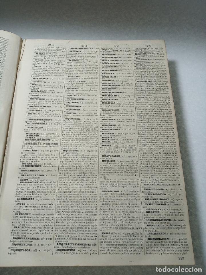 Diccionarios antiguos: Diccionario enciclopédico de la lengua española. 2 tomos. Sociedad de personas especial. Madrid.1875 - Foto 14 - 184631277