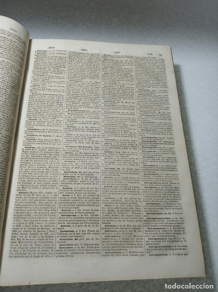 Diccionarios antiguos: Diccionario nacional o gran diccionario clásico de la lengua Española. Don Ramón Joaquín Dominguez. - Foto 7 - 184632747