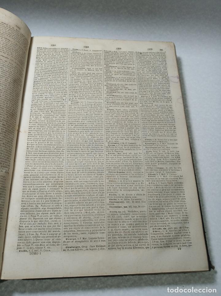 Diccionarios antiguos: Diccionario nacional o gran diccionario clásico de la lengua Española. Don Ramón Joaquín Dominguez. - Foto 8 - 184632747