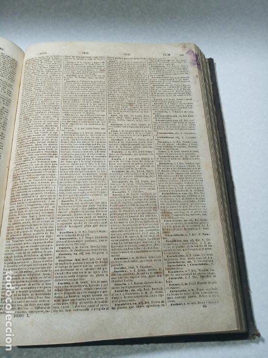 Diccionarios antiguos: Diccionario nacional o gran diccionario clásico de la lengua Española. Don Ramón Joaquín Dominguez. - Foto 9 - 184632747