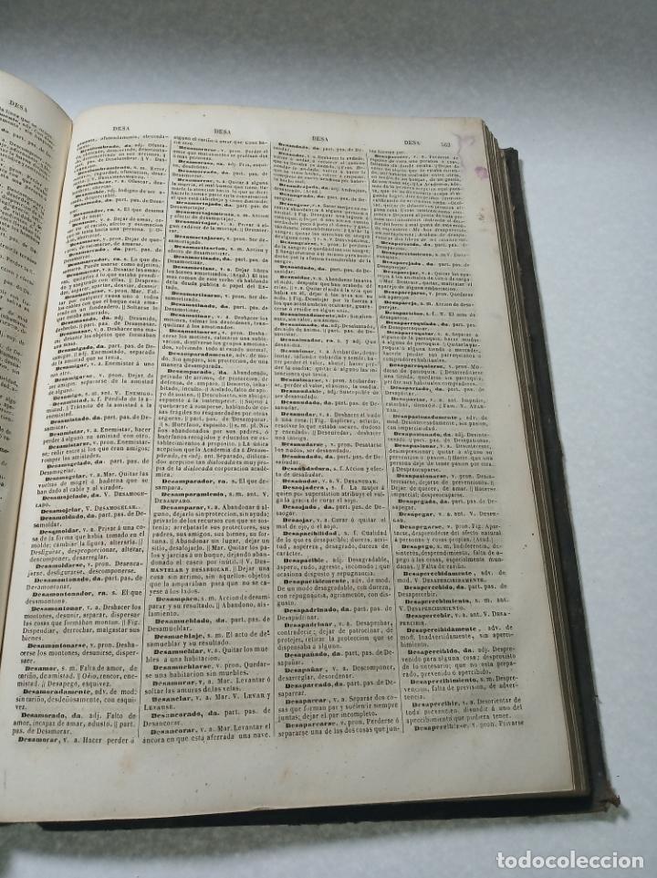 Diccionarios antiguos: Diccionario nacional o gran diccionario clásico de la lengua Española. Don Ramón Joaquín Dominguez. - Foto 10 - 184632747