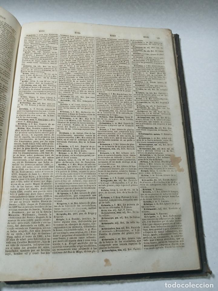 Diccionarios antiguos: Diccionario nacional o gran diccionario clásico de la lengua Española. Don Ramón Joaquín Dominguez. - Foto 11 - 184632747