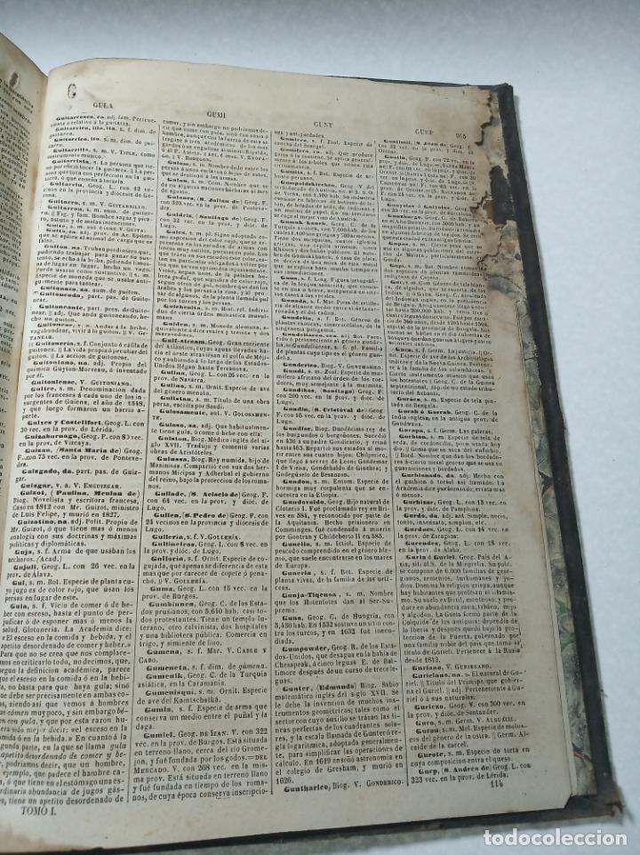 Diccionarios antiguos: Diccionario nacional o gran diccionario clásico de la lengua Española. Don Ramón Joaquín Dominguez. - Foto 12 - 184632747