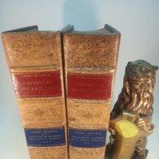 Diccionarios antiguos: UNIVERSAL VOCABULARIO EN LATÍN Y ROMANCE. 2 TOMOS. ALFONSO PALENCIA. REP. FACSIMILAR DE LA DE 1490.. Lote 184634868
