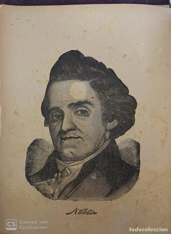 Diccionarios antiguos: WEBSTER´S. UNABRIDGED DICTIONARY. AN AMERICAN DICTIONARY OF THE ENGLISH LANGUAGE. NOAH WEBSTER, 1892 - Foto 3 - 185785466