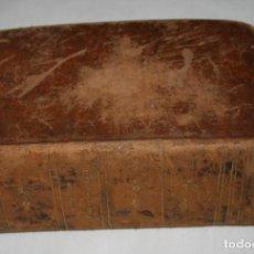 Diccionarios antiguos: DICCIONARIO DE LA LENGUA CASTELLANA, JUAN ROCA Y SUÑOL 1846, LIBRO ANTIGUO DE FALTRIQUERA. Lote 187532276