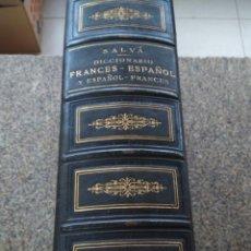 Diccionarios antiguos: NUEVO DICCIONARIO FRANCES-ESPAÑOL Y ESPAÑOL-FRANCES --VICENTE SALVA -- PARIS 1874 --. Lote 188654246