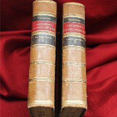 Diccionarios antiguos: A PRONOUNCING DICTIONARY OF THE SPANISH AND ENGLISH LANGUAGES. MADRID 1860. VELÁZQUEZ DE LA CADENA. Lote 190372227