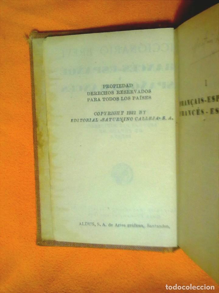 Diccionarios antiguos: DICCIONARIOS BREVES.CALLEJA.1921. - Foto 4 - 190485140