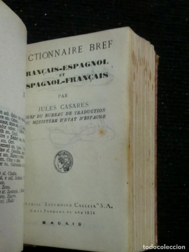 Diccionarios antiguos: DICCIONARIOS BREVES.CALLEJA.1921. - Foto 6 - 190485140