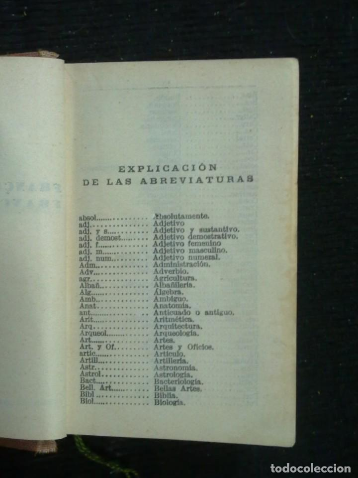 Diccionarios antiguos: DICCIONARIOS BREVES.CALLEJA.1921. - Foto 8 - 190485140