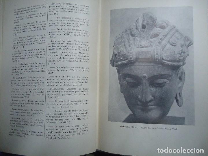 Diccionarios antiguos: Diccionario antológico del pensamiento universal 1958 Antonio Manero. Impreso en México, 1958. UTE - Foto 3 - 191710537