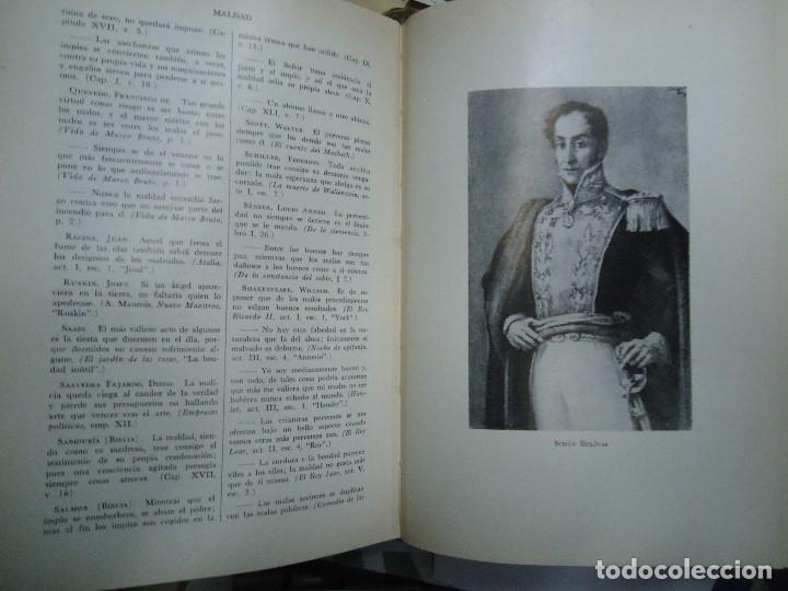 Diccionarios antiguos: Diccionario antológico del pensamiento universal 1958 Antonio Manero. Impreso en México, 1958. UTE - Foto 5 - 191710537
