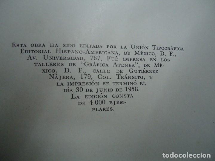 Diccionarios antiguos: Diccionario antológico del pensamiento universal 1958 Antonio Manero. Impreso en México, 1958. UTE - Foto 7 - 191710537